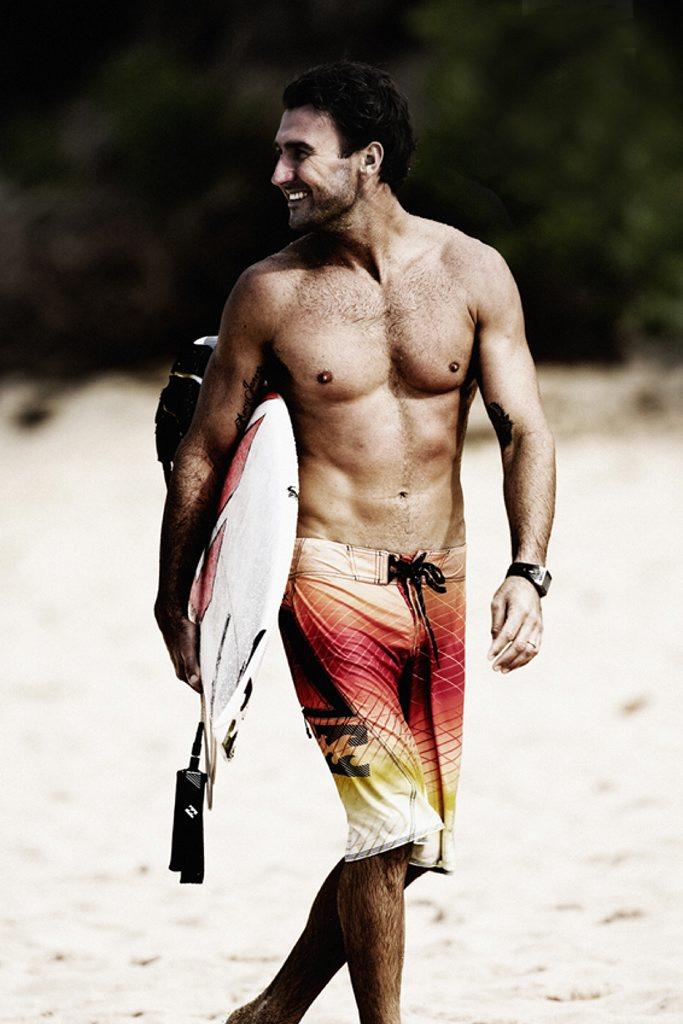 Professional surfer Joel Parkinson.