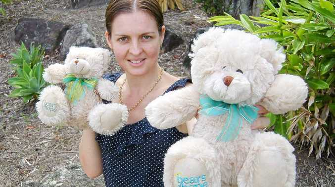 Candace Burns is helping other mums who have lost a baby.