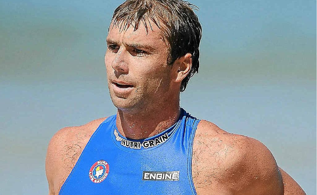 Hugh Dougherty finished second in the Kellogg's Nutri-Grain IronMan Series race at Coolum.