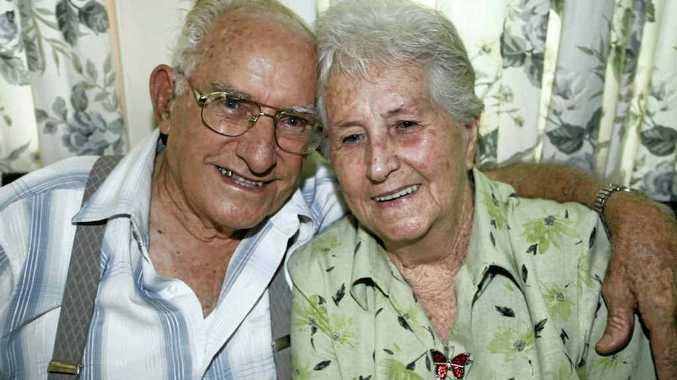 Rockhampton's George and Marjorie Reif will celebrate their 60th wedding anniversary on Thursday.