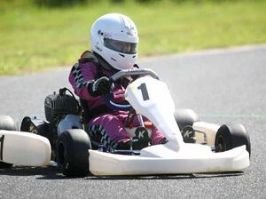 Storm a challenge for karters