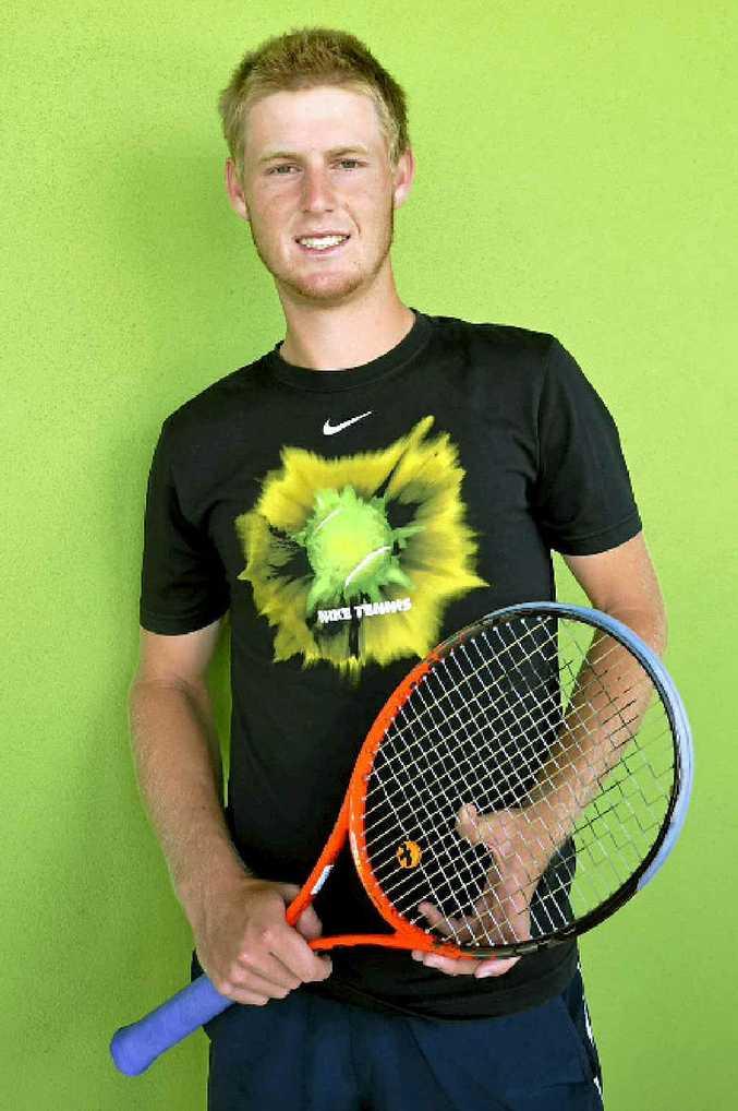 Australian Open junior boys champion Luke Saville will contest this week's Toowoomba Tennis International at USQ.