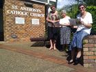 Clare Perkins, Mary Hammermaster and Kingscliff coordinator Val Gregor are looking forward to World Day of Prayer at St Anthony's Catholic Church, Kingscliff, and around the Tweed Shire.