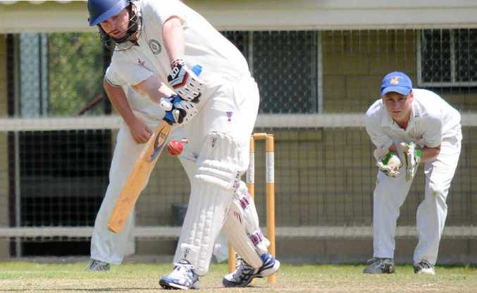 Shay Bosworth scored a century on the weekend to guide Wests to an outright win over Valleys.