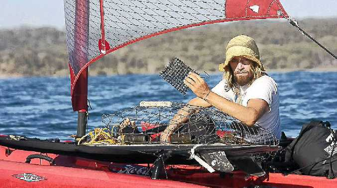 Dave Rastovich cares about the ocean. A film to be screened on the beachfront follows his quest.