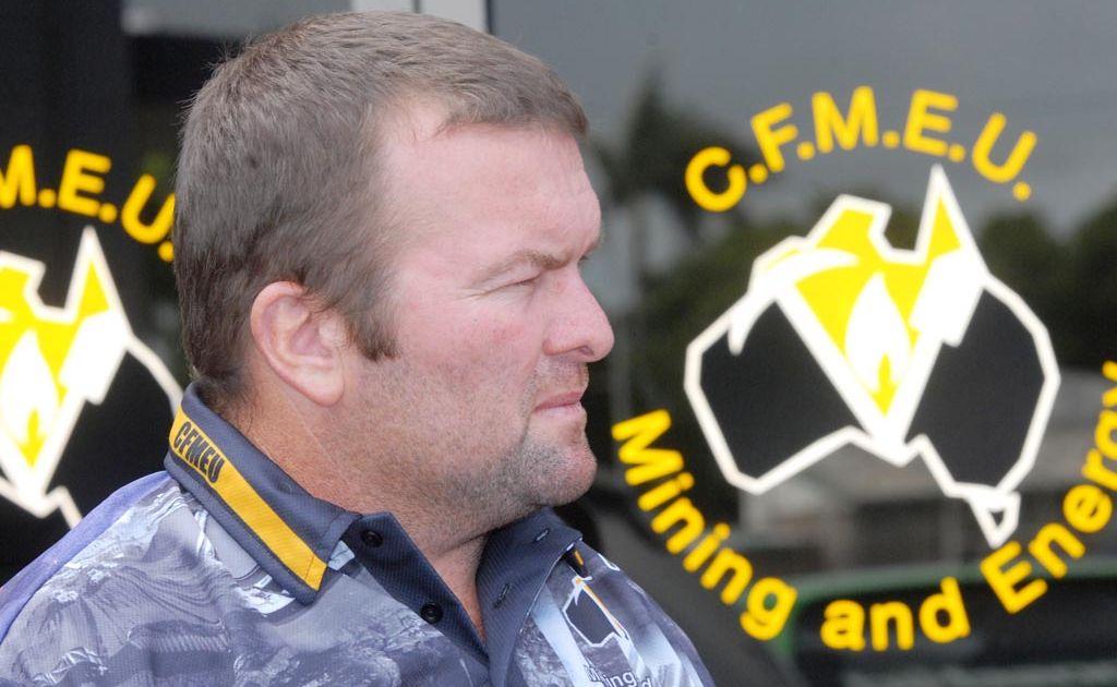 Steve Smyth from CFMEU