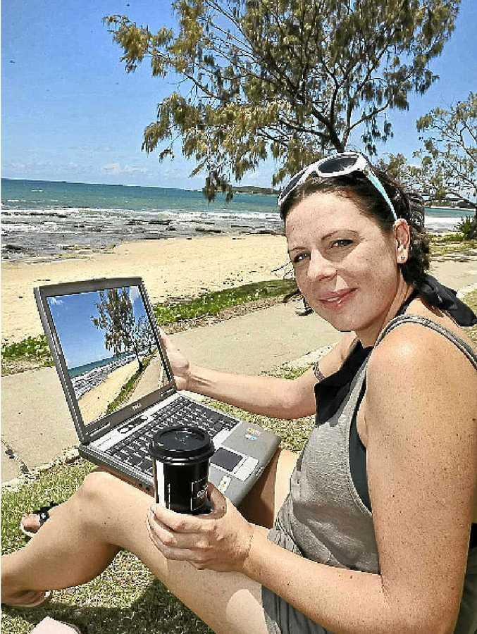 Angela Cheesman loves the idea of free wi-fi.