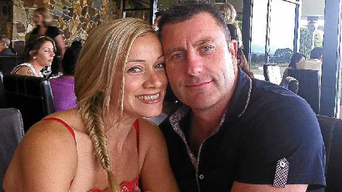 Steve Murphy, seen with wife Larissa, has joined a potential class action against the Commonwealth Bank.