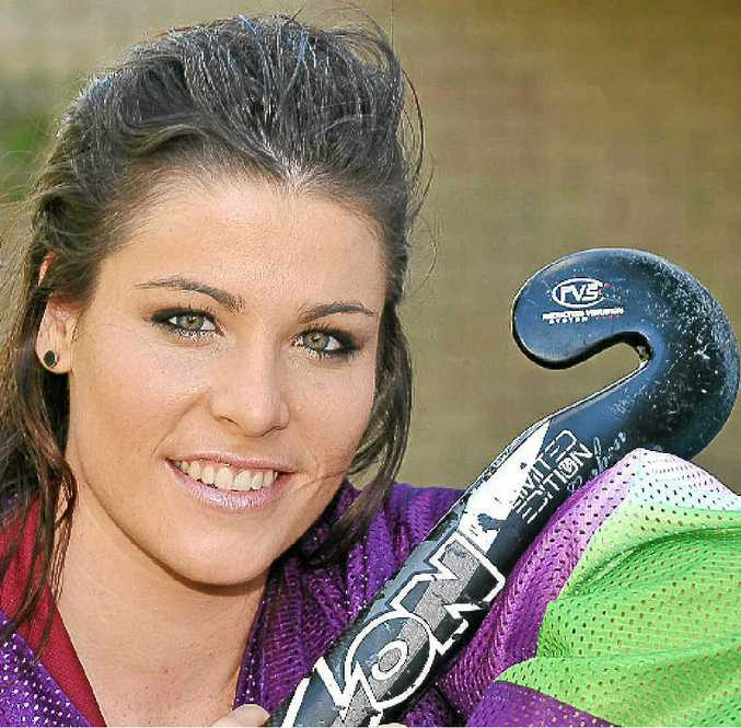 Maddison Lawrence has been selected as goalkeeper for the Queensland under-18 hockey team.