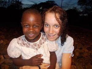 Girl on mission brings hope
