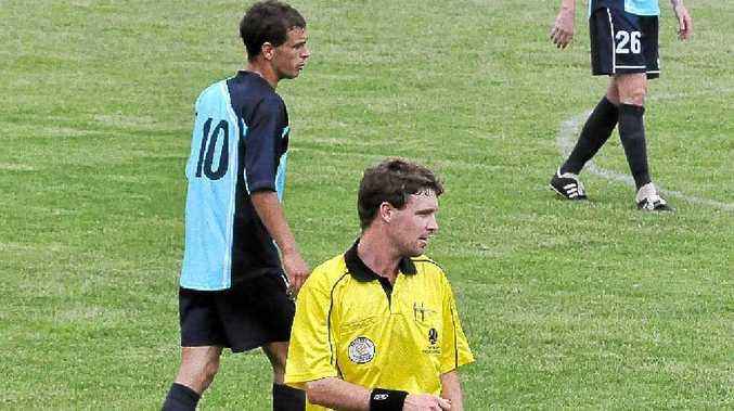 Leading FFNC referee Luke Mackney.