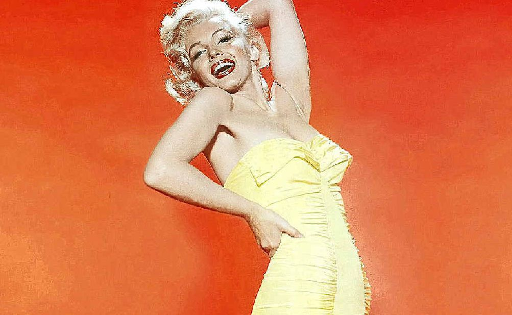 A photograph in David Wills' collection of Marilyn Monroe.