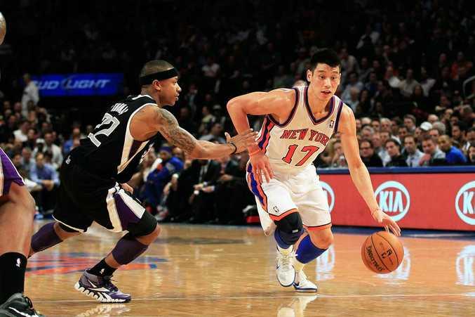 New York Knicks' Jeremy Lin.