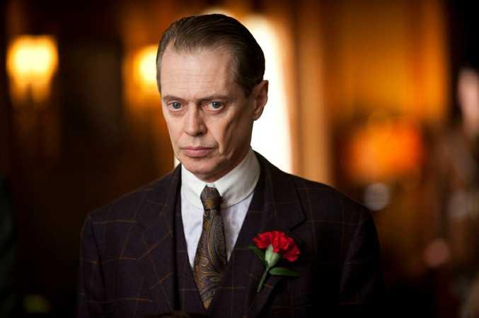 Steve Buscemi as Nucky Thompson in the TV series Boardwalk Empire.