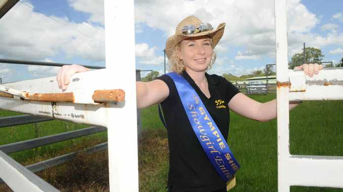 Gympie Showgirl entrant Sarah Aberdein is set to unleash the bulls at a massive Bull and Bronc fundraiser at the Gympie Showgrounds.