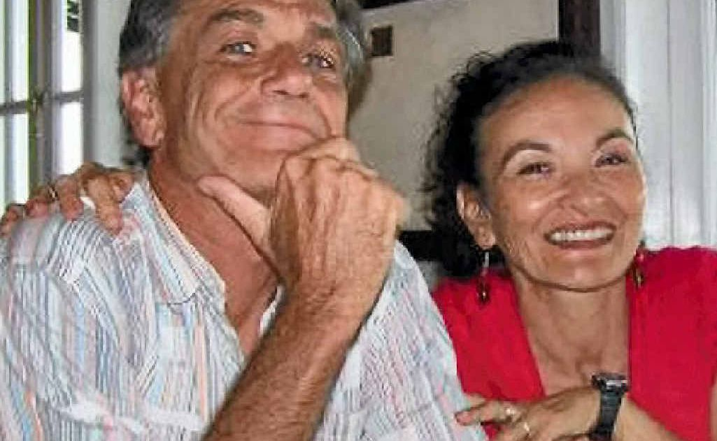 Former Whitsunday residents Gerry Goeden with his partner Carmel Brooks who went missing off their boat Moondancer two weeks ago near Phuket in Thailand.