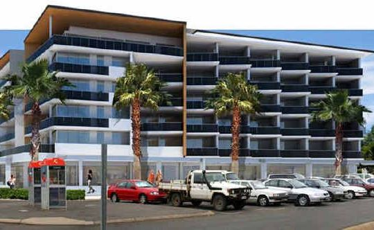 An artist's impression of The Salt Apartments Yeppoon, a new development which has just been approved on the beachfront, with construction expected to start next year.