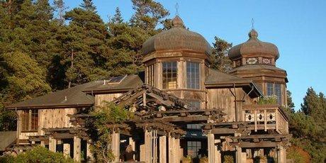 Mendocino's famous St Orres Inn.