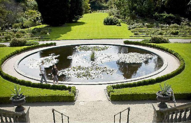 Near Copenhagen's botanic garden.
