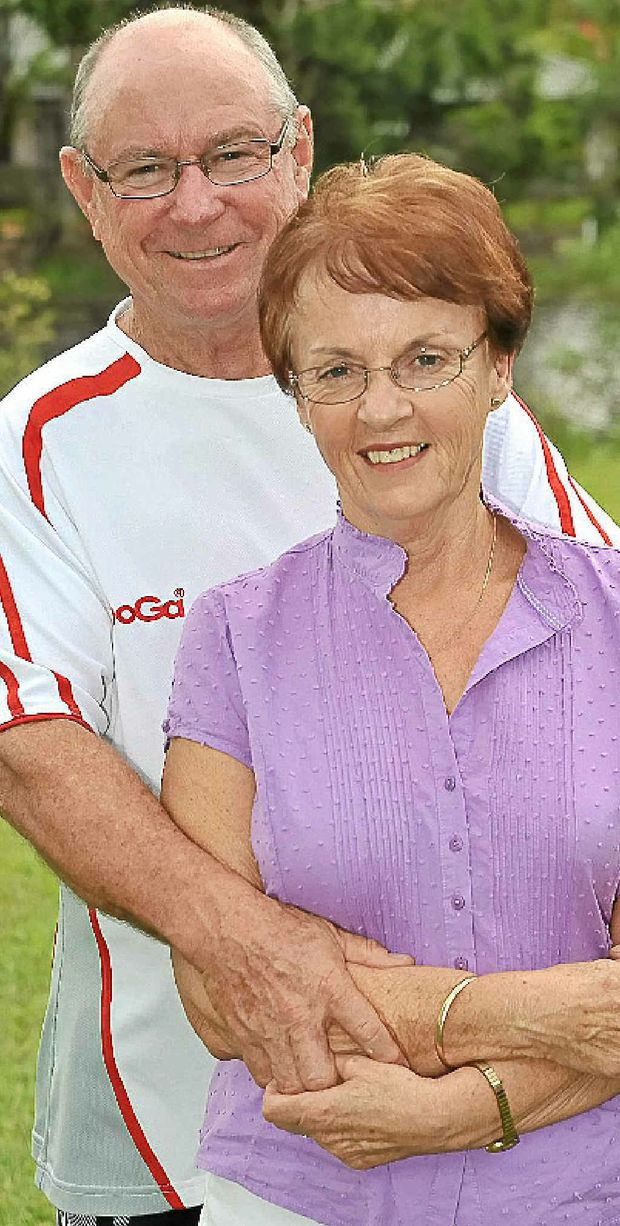 Chris McLean's parents Lyn and Shane.
