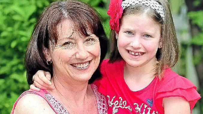 Pomona's Sharon Hill and her daughter Grace who suffers from Asperger's syndrome.