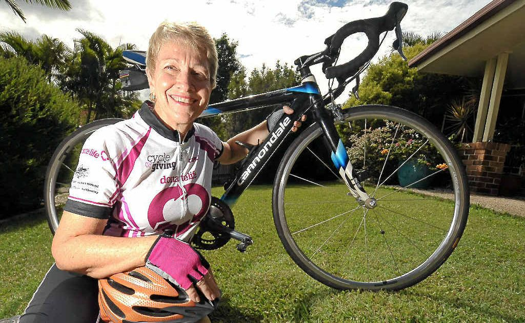 Mary Long is the founder of the Cycle of Giving, a ride to raise awareness for organ donation.