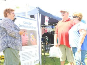 Citizens share concerns