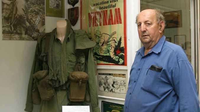 Volunteer Joe Lynam is looking forward to the barracks redevelopment.