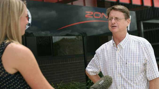 Member for Rockhampton Robert Schwarten back in town after an operation.