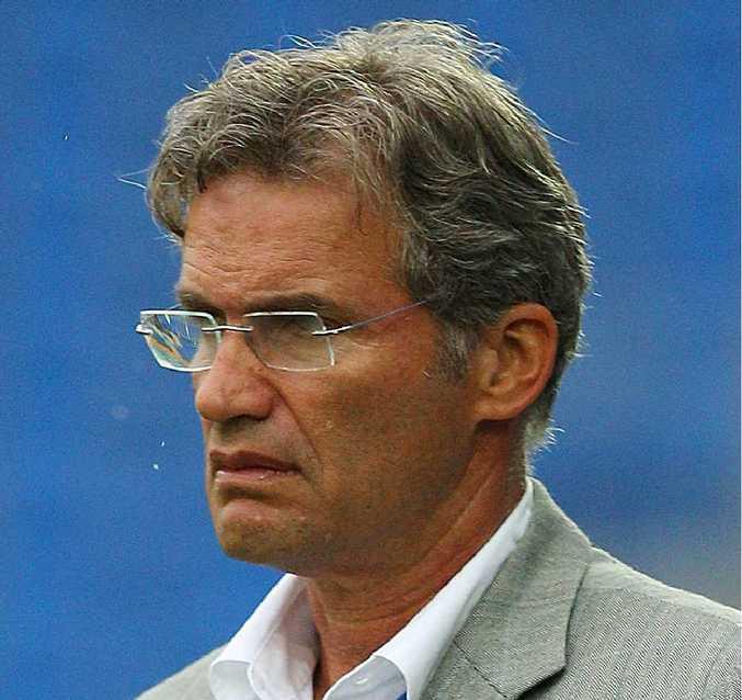 Former Gold Coast United coach Miron Bleiberg.