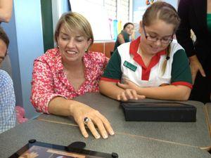 Bligh visits Mackay schools