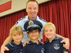 Adopt-a-cop dons new uniform