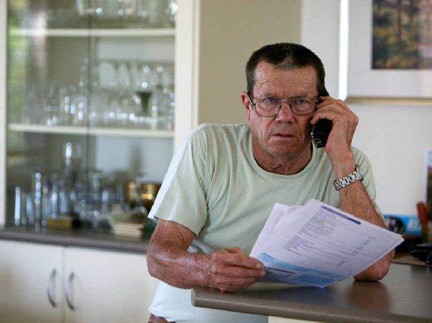 Harry Bichel smelt a rat when he received a spam phone call last week. The Sarina man wants to warn other Mackay residents to have their wits about them.