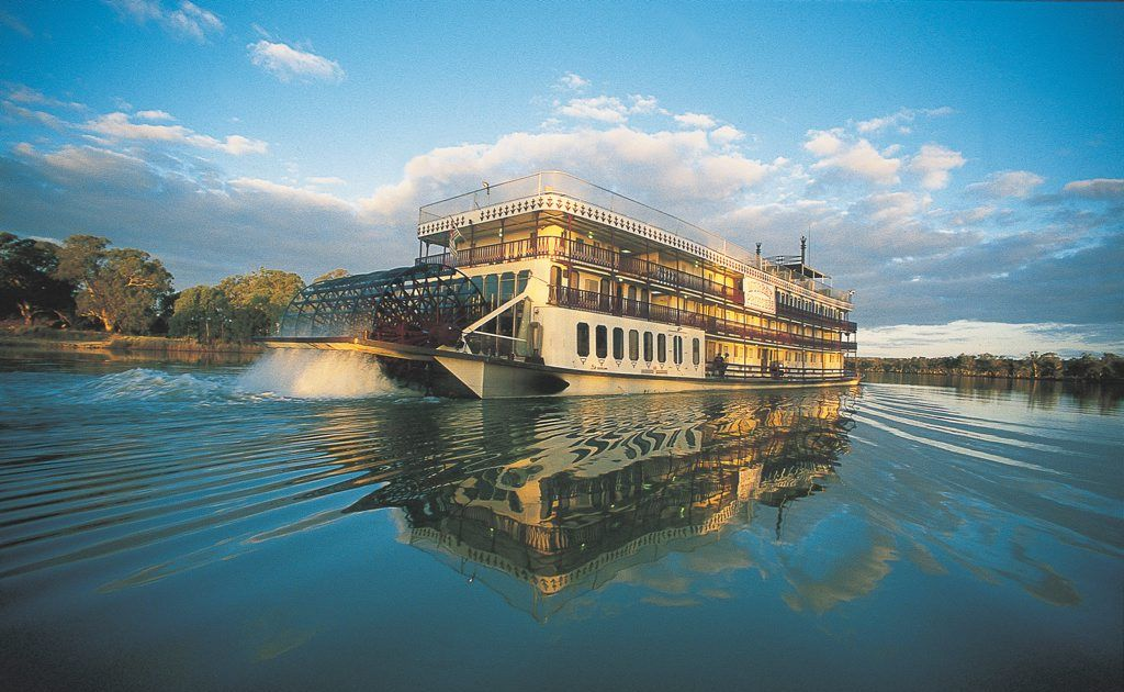 Cruise the spectacular Murray River aboard its largest paddlewheeler, the Murray Princess.
