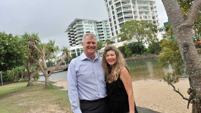 Maroochydore Chamber of Commerce Greg Young and Melinda Shelton