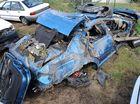 Man killed in single vehicle crash
