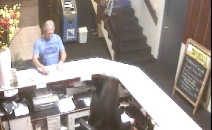 This man may have information that would assist detectives in finding the person responsible for robbing Kirra Sports Club in June 2011.