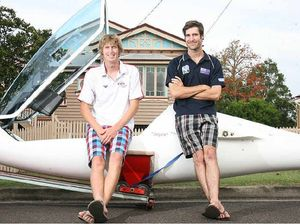 Pilot soaring to new heights