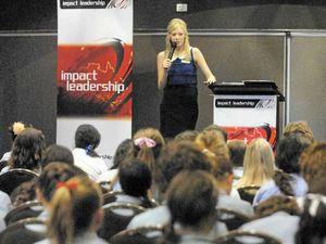 Future leaders get sound advice