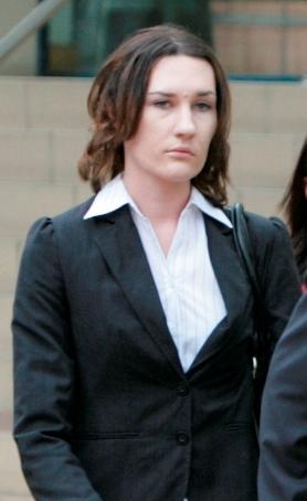 Supreme Court jury finds Peta Airini Nocon not guilty of manslaughter. Peta leaving Rockhampton Court House.