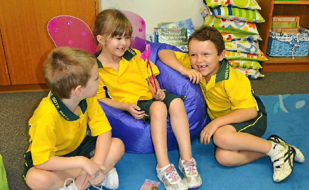 Kai Jennings, Lily Hughes and James Brown are some of the Tooth Fairy's latest happy customers.