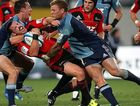 The Crusaders face the Blues in Christchurch on Saturday night.