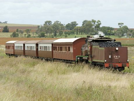 The restored C17 coal-fired, steam locomotive is coming to Toowoomba this weekend.