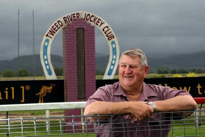 Tweed River Jockey Club chairman Bernie Quinn is