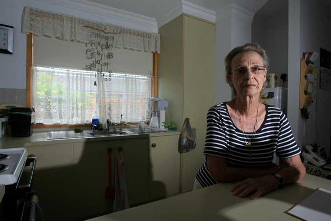 Veronica Bean was Robbed 3 times by the same person . Photo Blainey Woodham / The Northern Star