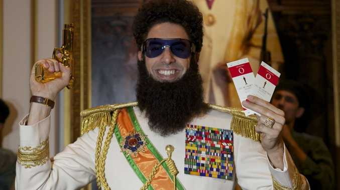 Sacha Baron Cohen in his new movie, The Dictator.