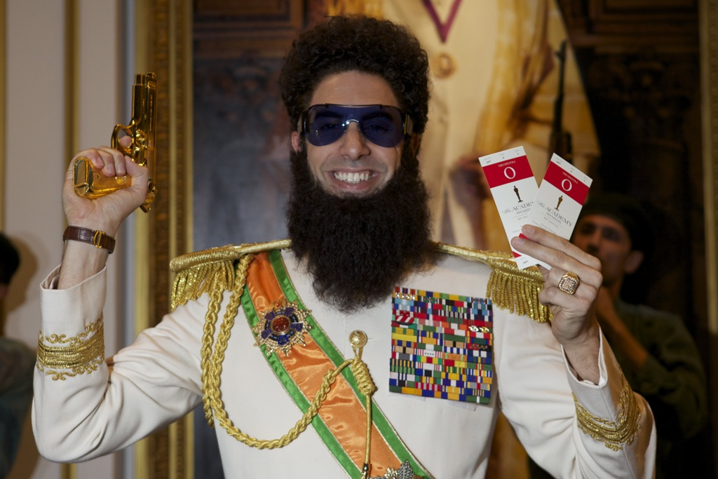 Sacha Baron Cohen AKA The Dictator wants to meet
