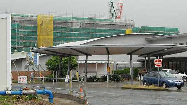 Flooding has hit a Sunshine Coast company involved in the revamp of Mackay Base Hospital.