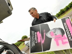 Anger over signage attacks