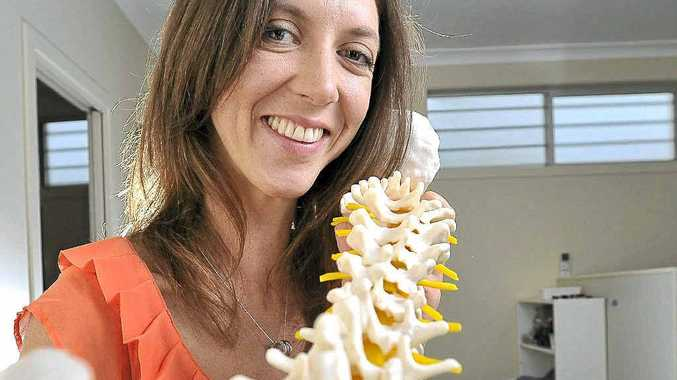Dr Bridie Cullinane, owner of Goonellabah Family Chiropractic Practice focuses on preventative care.